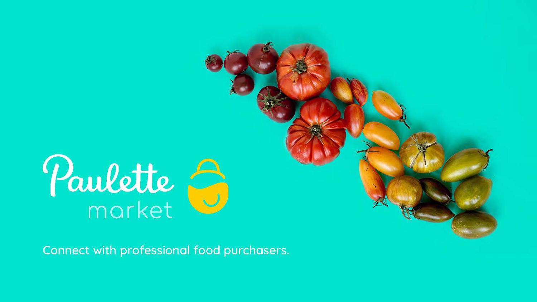Identité visuelle alimentation - Paulette Market