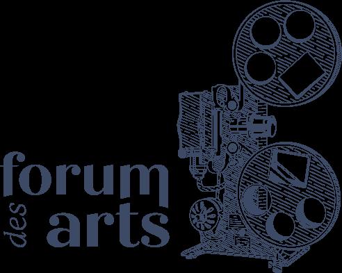 Logo du Forum des Arts par Marine Dassac Design Studio