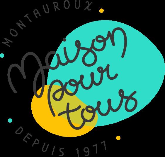 Logo de la Maison pour tous de Montauroux par Marine Dassac Design Studio